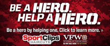 Sport Clips Haircuts of Little Rock - Park Avenue ​ Help a Hero Campaign